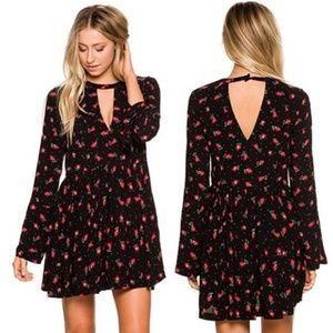 FREE PEOPLE Tegan Floral Mini Dress- 12 (Large)